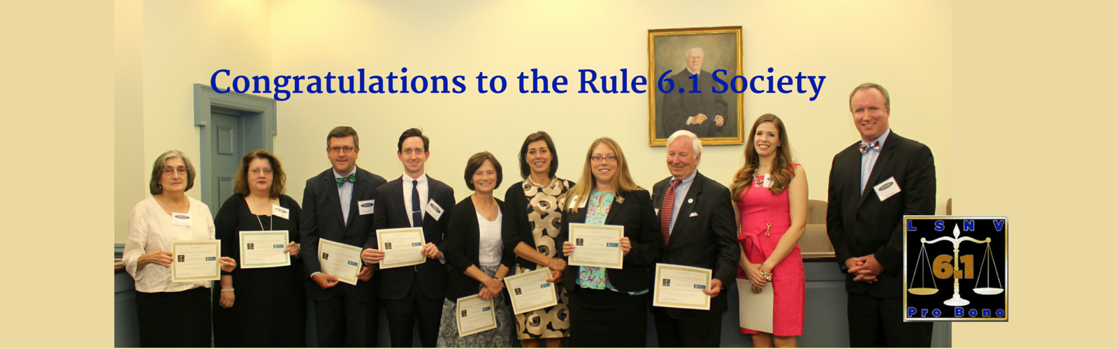 Members of the Rule 6.1 Society